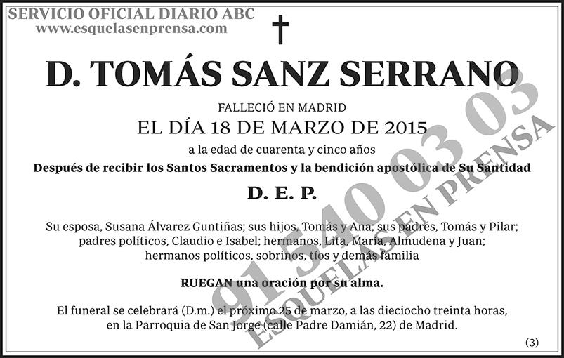 Tomás Sanz Serrano